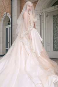 Madison Ray, Barbizon Southwest grad, booked a photo shoot with Novelty Bride Magazine