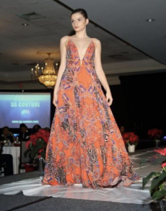 Medina, Barbizon St. Louis alum, walked the runway at the St. Louis County Chapter NAACP Annual Holiday Gala.