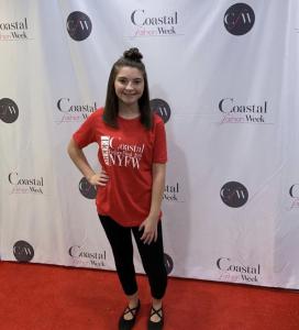 Mia, Barbizon Red Bank grad, booked Coastal Fashion Week