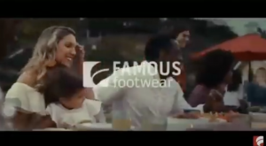 Mia, Barbizon Socal grad, is in Famous Footwear's The Colors Of Summer commercial