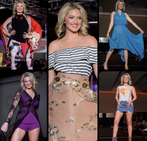 Micayla, Barbizon Knoxville grad, Walked In Knoxville Fashion Week