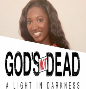 Michaela McCollum, Barbizon of Little Rock alum, spent 6 days filming for the feature film God's Not Dead- A Light in Darkness coming to theaters in March 2018