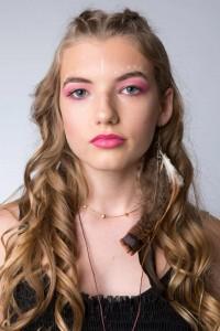 Monet Emery, Barbizon Southwest grad, modeled for Avalon School of Cosmetology