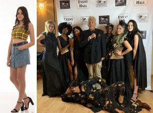 Nadia Corrales, Barbizon of Tampa alum, walked the runway at the Beauty on the Bay magazine launch party