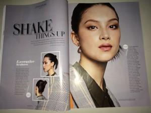 Natalia Brzozowski, Barbizon of Detroit graduate, was features in Women's Weekly Magazine