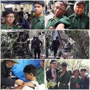 Nathan and jeremiah Matulessya, Barbizon Socal graduates, filmed Animals