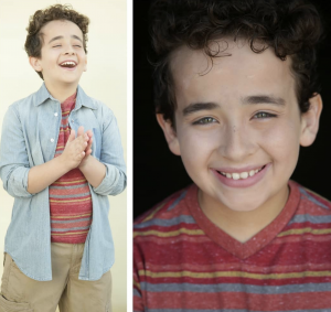 Nicolas Gutierrez, booked a commercial for Invisalign