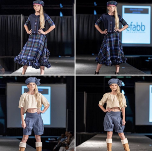 Nicole Sluyter, 12-year-old Barbizon of Baton Rouge alum, will be walking in New York Fashion Week