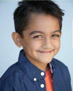 Parv Laddha, Barbizon Socal graduate, booked a Google print job