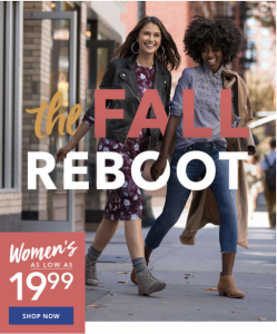 Pesi Sikayla, Barbizon of New Carrollton alum, is featured in a fall campaign for Payless.
