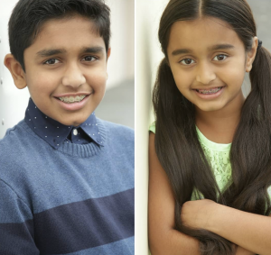 Pranil and Vibha Arsid, Barbizon Socal grads, signed with Unlimited Possibilities Music and Talent Agency