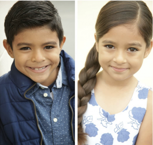 Rafael and Daralin Garcia, Barbizon Socal alumni, signed with The Bella Agency in Los Angeles