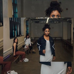 Regine Hawkins, Barbizon of Nova alum, walked in Brooklyn Fashion week with Granate Fashion for designer Annina King