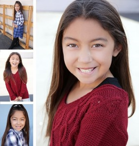 Saige Bautista, Barbizon Socal alum, signed with Starlight Talent Agency
