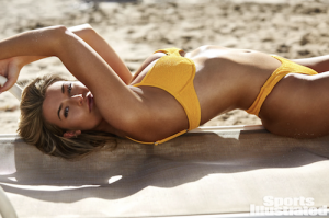 Samantha Hoopes, Barbizon of Ardmore grad, is a featured model in the 2018 Sports Illustrated Swimsuit edition