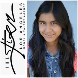 Sara Benson, Emily Valdivia, Jared Settles and Angie Calderilla, Barbizon Socal alumni, signed with The Firm LA Models And Talent Agency