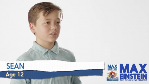 Sean Mumper, Barbizon of Marietta grad, booked a Max Einstein video