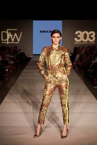 Six Barbizon Southwest models walked for international designers on Night 7 of Denver Fashion Week1