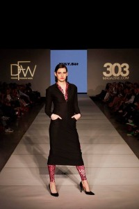 Six Barbizon Southwest models walked for international designers on Night 7 of Denver Fashion Week2