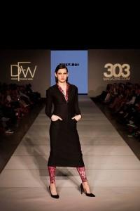 Six Barbizon Southwest models walked for international designers on Night 7 of Denver Fashion Week2