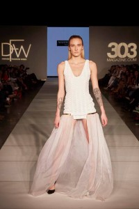 Six Barbizon Southwest models walked for international designers on Night 7 of Denver Fashion Week7