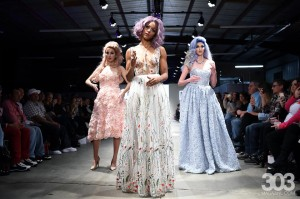 Six Barbizon Southwest models walked in the hair show at Denver Fashion Week1