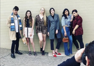 Six Barbizon Southwest models were selected to walk in a fashion show that took place during Tucson's Got Talent