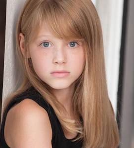 Skye, Barbizon Red Bank kids model, was nominated for Top Child Model in Atlantic City Fashion Week