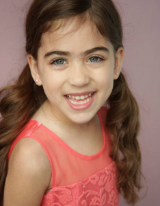Sophia Aboujaude, Barbizon Socal alumni, signed with Rage Models and Talent for commercials, TV and film
