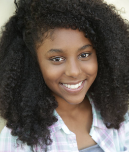 Talayah Beni, Barbizon Socal grad, signed with The Bella Agency in Los Angeles for commercials and print work