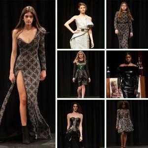The Papillon Fashion Show featured Barbizon Chique models