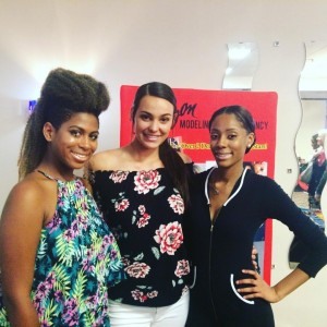 Three Barbizon Chique models walked in Lehigh Valley Fashion Week at the JetSport in Allentown