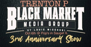 Trenton P., Barbizon St. Louis grad, performed at the Black Market Media Group 3rd Anniversary Show in Sauget, IL