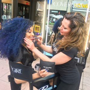 Two Barbizon of Manhattan grads booked a job with CoverGirl
