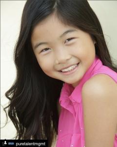 Viani Wong, Barbizon Socal graduate, booked a PSA