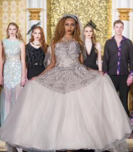 Victoria Alexis, Barbizon alum, walked in New Orleans Fashion Week for Gwen's Bridal Boutique