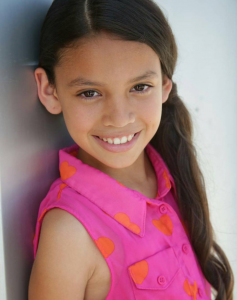 Victoria Anaya, Barbizon Socal alum, booked her first commercial