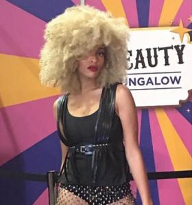 Victoria-Barbizon grad-appeared in the Essence Natural Hair Beauty Fashion Show in Louisiana