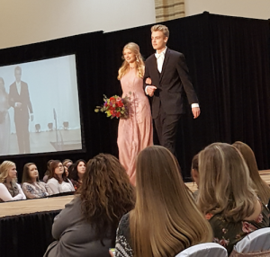 William Hawkins, Barbizon of Marietta alum, booked The Pink Bride runway show at the Chattanooga Convention Centre through Top Talent Management
