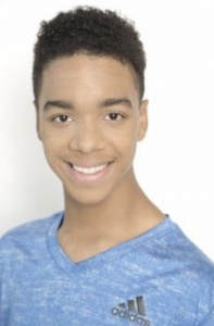 Xavier Alexander, Barbizon of Columbia grad, signed with Actor's Choice Talent Agency and Katalyst Talent Agency
