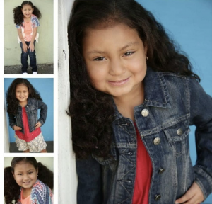 Yoseline Barrios, Barbizon Socal graduate, was on set filming a role on an upcoming film She is signed with Clear Talent Group Los Angeles and Discover Management