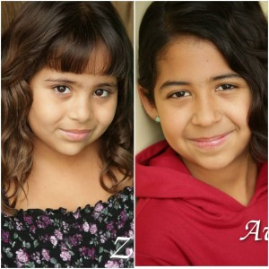 Zoe and Avi Garcia, Barbizon Socal alumni and sisters, signed with Mavrick Artists Agency