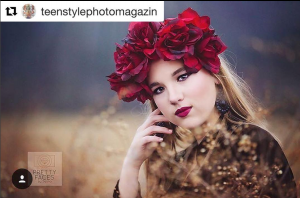 arbizon Harrisburg graduate Maggie P was featured by Teen Style Photo Magazine
