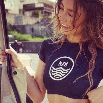 Barbizon PA grad Kate modeling NXN swimwear