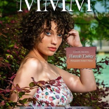 Hannah Easley on the cover of MMMagazine